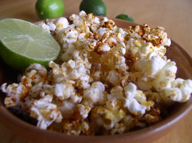 Popcorn With Lime And Chili Recipe - Food.com