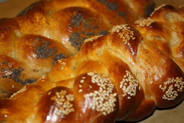 Challah Braided Egg Bread) Recipe - Baking.Food.com