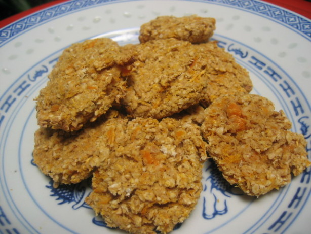 Sweet Potato Low-Fat High Fibre Cookies Recipe