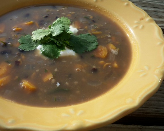 Black Bean Soup With Sweet Potatoes Recipe - Food.com