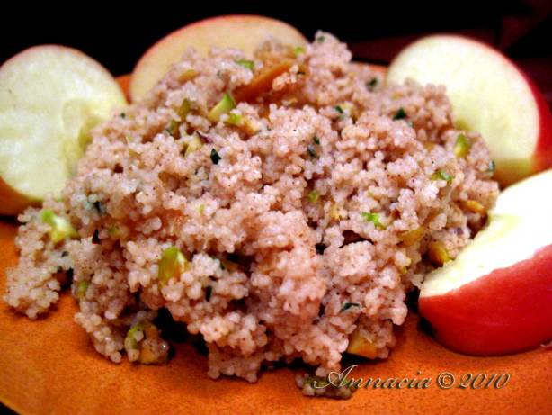Couscous With Dried Apricots And Pistachios Vegan) Recipe - Food.com