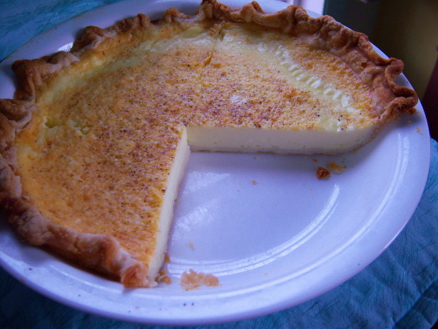 Duncans Egg Custard Pie Recipe - Baking.Food.com