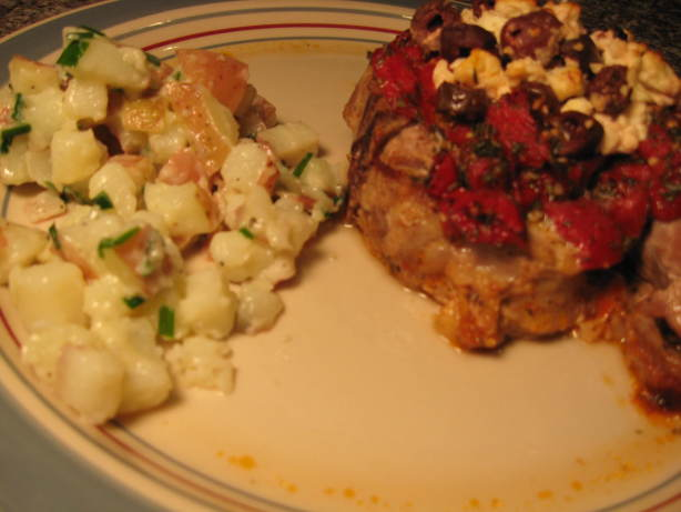 Greek Style Baked Pork Chops Recipe - Food.com