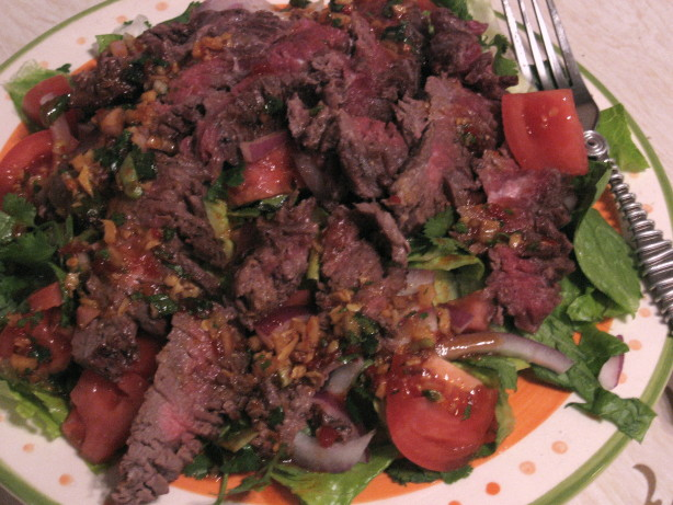 thai style beef salad recipe