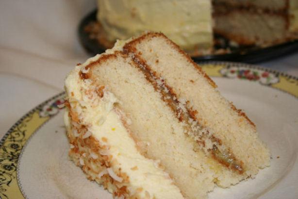 Recipes Lemon Layer Cake: Coconut Lemon Layer Cake Recipe