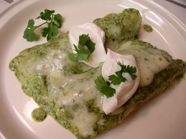 Chicken Enchiladas Verdes Recipe - Food.com