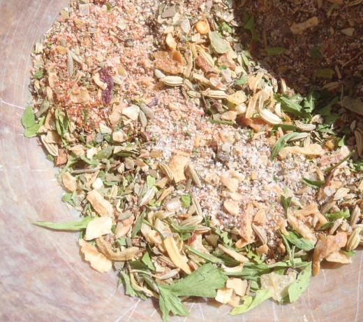 Seasoning For Ground Pork Italian-Style Sausage) Recipe