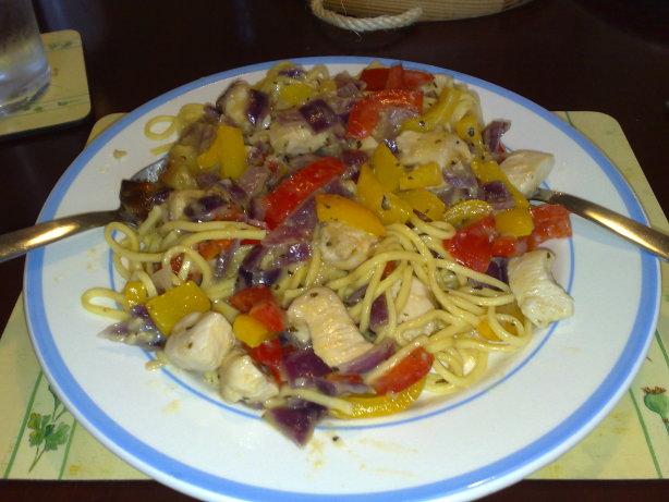 Olive Garden Chicken Scampi Yummy Copycat Recipe