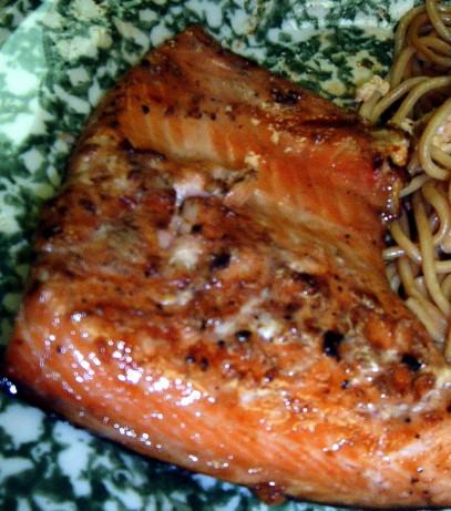 Honey Teriyaki Salmon Recipe - Food.com