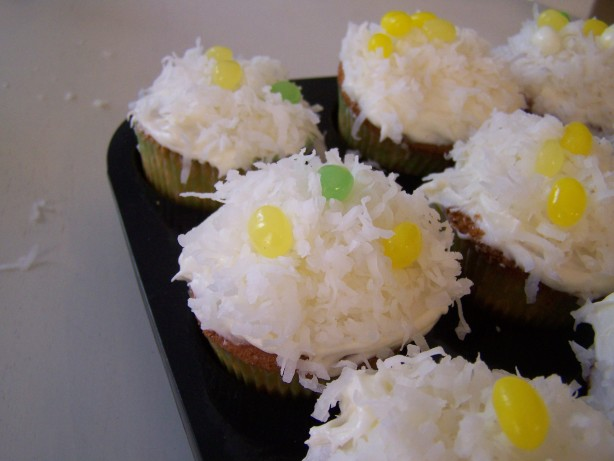 Coconut Cupcakes With Cream Cheese Frosting Recipe - Food.com