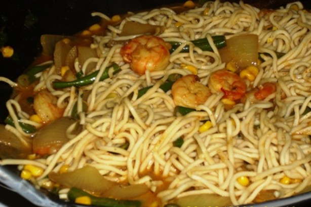 Green Curry Chicken Noodle Stir-Fry Recipe - Food.com