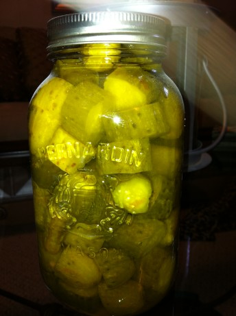 Old Fashioned Sweet Pickle Recipe