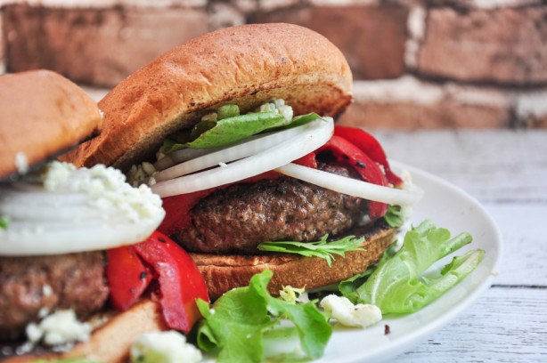 Red, White And Blue Burgers Recipe - Food.com