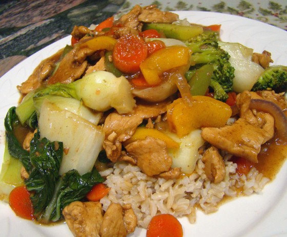 Summer Garden Chicken Stir-Fry Recipe - Food.com