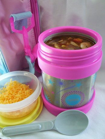 lunch box taco chicken soup recipe. Black Bedroom Furniture Sets. Home Design Ideas