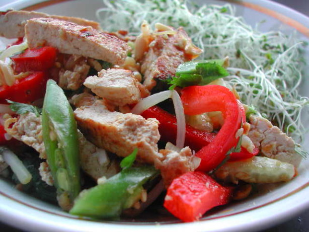 Vietnamese Tofu Salad Recipe — Dishmaps