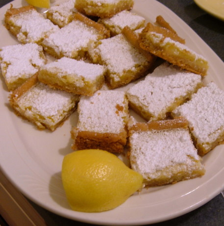 Cookie Crust Lemon Bars Recipe Food Com