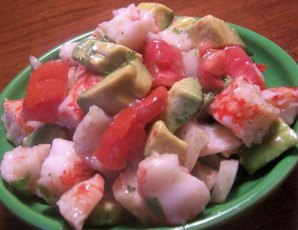 how to make imitation crab salad