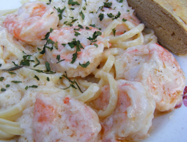 shrimp creamy white wine shrimp linguine lets live y all creamy white ...