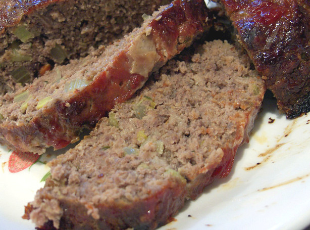 Buffalo Meatloaf With Brown Sugar And Ketchup Glaze Recipe - Food.com