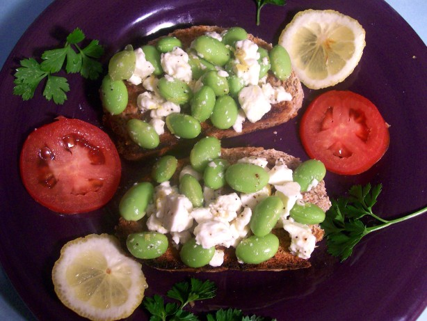 Crostini With Fava Beans And Ricotta Salata Recipe - Food.com