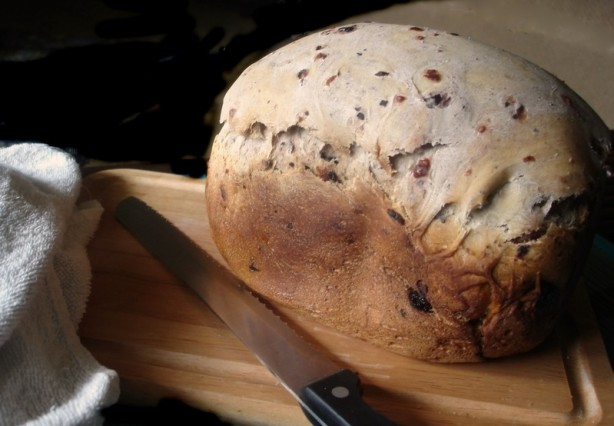 bread machine blueberry bread