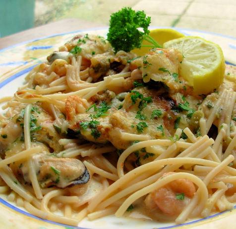 Shrimp And Spaghetti Gratin Recipe - Food.com