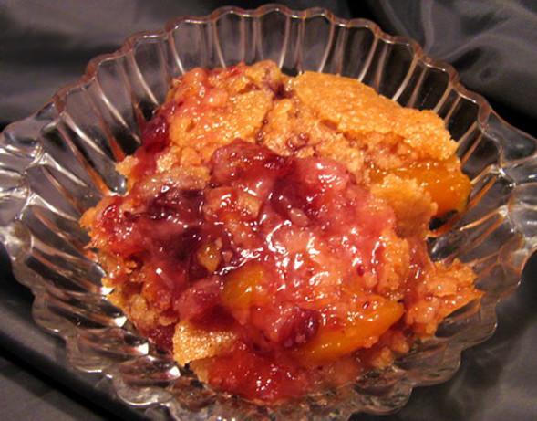 Thanksgiving Cranberry Peach Cobbler Recipe - Dessert.Food.com