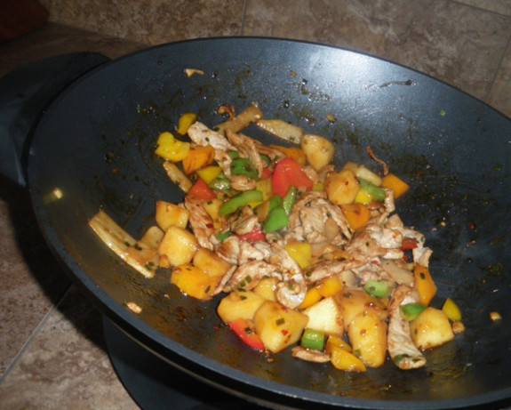 Apple And Pork Stir-Fry With Ginger Recipe - Food.com