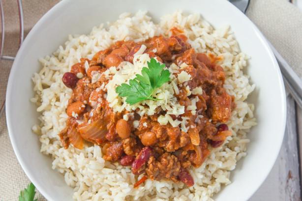 Food Network  Minute Turkey Chili Recipe