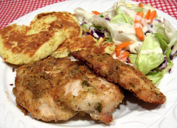 Parmesan Chicken Cutlets Recipe — Dishmaps