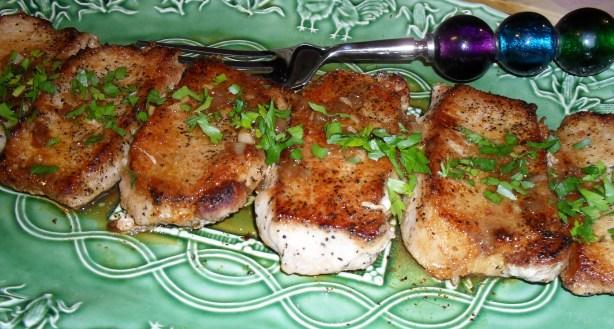 Pan Seared Pork Chops In White Wine Sauce Recipe - Food.com