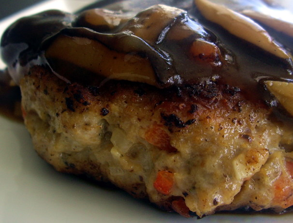 Teriyaki Chicken Burgers With A Teriyaki Mushroom Sauce Recipe - Food ...