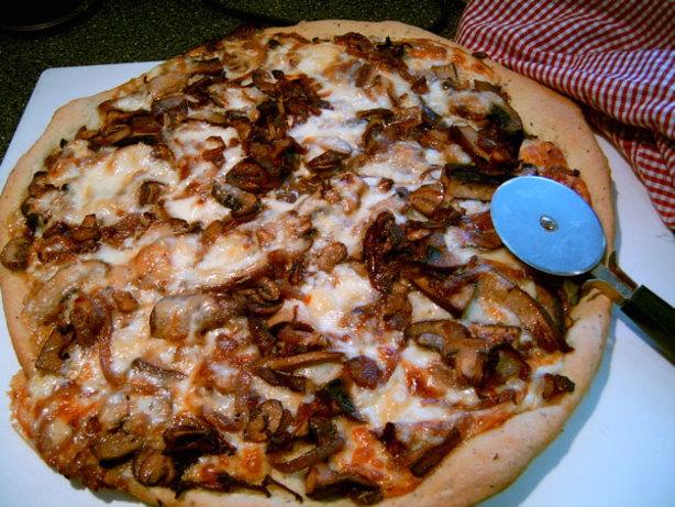 Mixed mushroom pizza recipe for Morel mushroom recipes food network