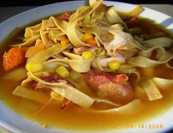 Food Network Turkey Soup With Egg Noodles
