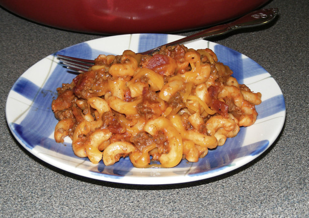 Bacon Cheeseburger Macaroni Skillet Recipe - Food.com