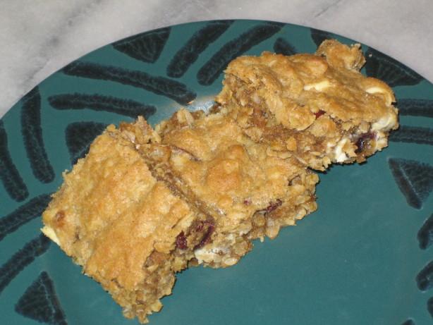 Food Recipe Oatmeal Raisin Bar Cookies