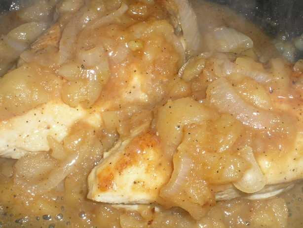 Chicken Smothered With Apples And Onions Recipe - Food.com