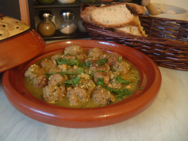 Meatball Tagine With Herbs And Lemon Recipe - Food.com