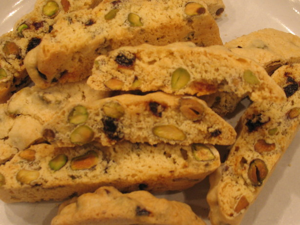 Cranberry Pistachio Biscotti Recipe - Food.com