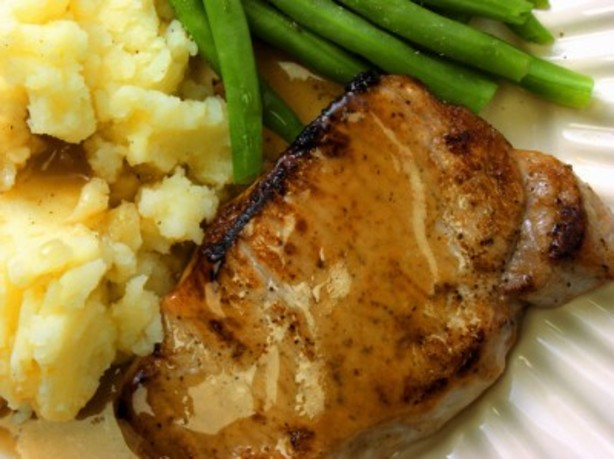 Dijon Mustard Pork Chops With Rice Recipe - Food.com