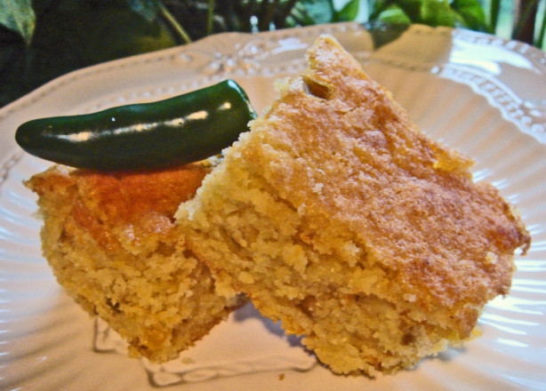Palo Verdes Green Chile Cornbread Recipe - Baking.Food.com