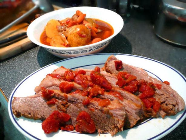 Brisket Pot Roast Style Recipe - Food.com