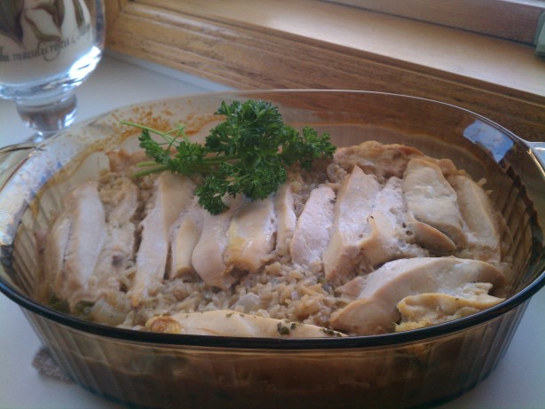 Chicken And Brown Rice Casserole Recipe - Food.com