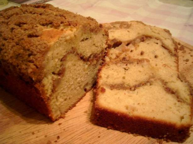 Low Calorie Loaf Cake Recipes: Buttery Apple Loaf Cake Recipe