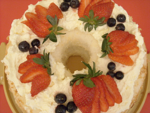 Strawberry Cream Angel Food Cake Recipe - Food.com