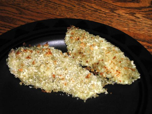 Pesto Panko Baked Fish Recipe Food Com