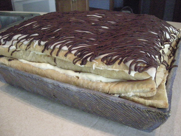 Hearts Delight Eclair Made With Puff Pastry Sheets