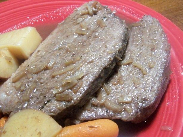 how to cook brisket pot roast