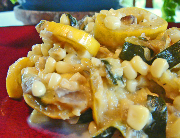 Calabasitas With Summer Corn, Zucchini, Green Chiles And Lime Recipe ...